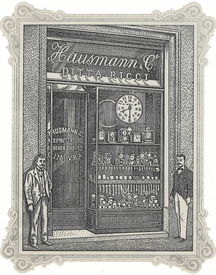 la comunicazione nel XIX sec. Diario_Archivio_1890_Stampa-negozio